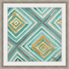 Nautical Geometric Massachusetts 16x24 Giclee Art Print, Gallery Framed, Silver Wood