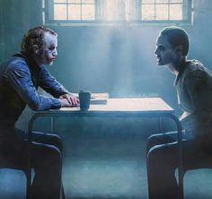 Heath Ledger/Jared Leto/The Joker Leto Joker, Joker Heath, Joker Joker, Bruce Timm, Joaquin Phoenix, Gotham City, Justice League, Cinema, Batman Vs Superman