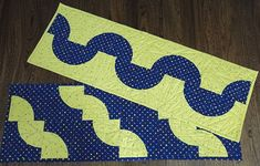 Snake and Wave Table Runners Free Project - C&T Publishing