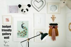budget friendly gallery wall tips and tricks