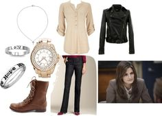"""Kate Beckett Inspired One"" by fashionofyourife on Polyvore"
