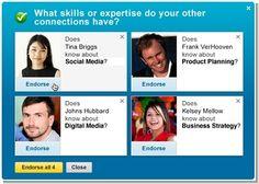 LinkedIn Endorsements: Llega el posicionamiento de los profesionales