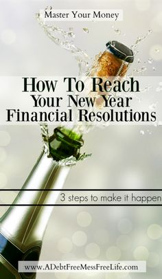 Got big money goals this year? Learn how to reach your financial goals whether it's getting out of debt, saving money or paying off student loans!