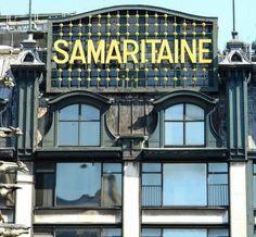 Frantz Jourdain et Henri Sauvage architectes de la Samaritaine - Paris 1e