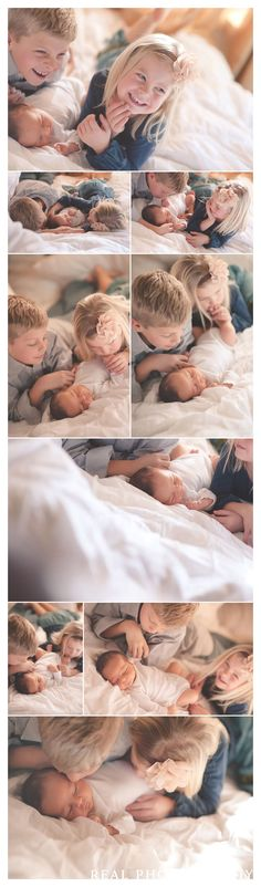 lifestyle newborn baby with siblings big sister and brother portraits photo ideas