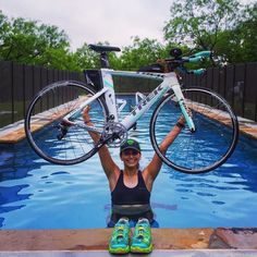 #swimbikerun  Today's key workout was a tough one but a great one! 60 min of long hill climbs on the bike then 4x0.25 mi hill runs at 3/4 effort  2 mile cool down! It's a good day to #tri! Good morning Thursday!  #trekbikes #showyourstripes #tribike #trigirl #triathlete #justtri #maddog #hoka #run #runner #running #swim #swimming #swimmer #cycle #cyclist #hillsforthrills #bike #happiness #iamvelocity #trimafia #garmin #irongirl #ironman #aeroiseverything by mayrenaisamar