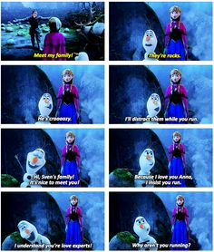 hahahaha oh god i love olaf! I took my nieces to see this movie!!! Cutest movie EVER!