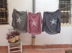 Camiseta estrellas Facebook Petite Manuela