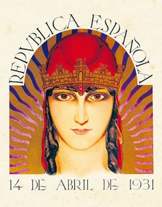 Poster from the Spanish Republic. Political Posters, John Edwards, Valencia, Vintage Photos, Aurora Sleeping Beauty, Princess Zelda, Drawings, Artwork, Madrid