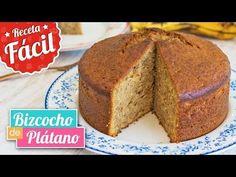 (237) Bizcocho de plátano/banana SÚPER JUGOSO | Receta fácil | Quiero Cupcakes! - YouTube
