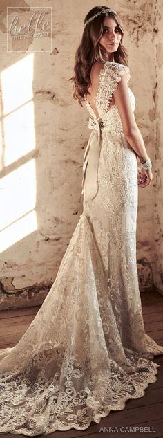 Wedding Dress by Anna Campbell Eternal Heart collection 2018 #weddingdress
