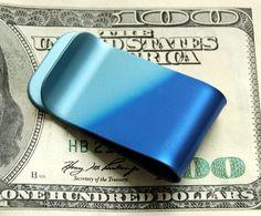 The Wave Titanium Money Clip