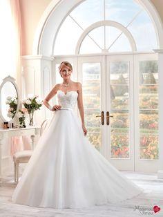 Robe de mariée Mlle Freya, robe de mariée avec traine, robe de mariage bustier…