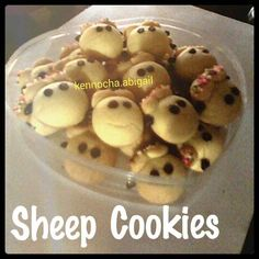 Sheep Cookies / Kukis Kambing