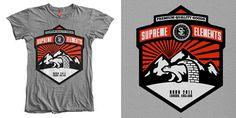 ผลการค้นหารูปภาพสำหรับ how to design supreme t shirt