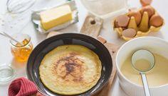 MAGGI Rezeptidee fuer Pfannkuchen Grundteig