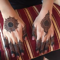 Kashee's Mehndi Designs, Round Mehndi Design, Arabian Mehndi Design, Finger Henna Designs, Beginner Henna Designs, Mehndi Designs For Girls, Bridal Henna Designs, Mehndi Design Pictures, Kashees Mehndi