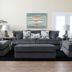 Smith Sofa & Loveseat by Jerome\'s Furniture, SKU MND23SASB ...