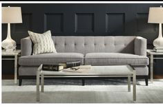 Cary office sofa. Mgbw, $1995.
