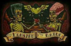 Frankenstein Skeleton love