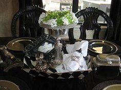 dining table centerpiece idea
