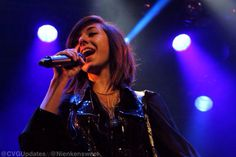 Christina Grimmie on tour in Europe