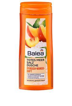 Balea Totes Meer Salz Dusche Pfirsich Mango