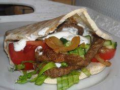En verden af smag!: Hjemmelavet Kebab i Pitabrød