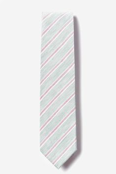Amazon.com: Linen Skinny Tie | Port Jefferson Striped Skinny Tie: Clothing