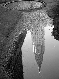 Beautiful reflection of the Chrysler Building. #Manhattan #NYC