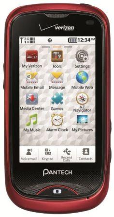 The new phone I will be getting in June. Pantech Hotshot Phone (Verizon Wireless)