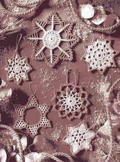 Esquemas de copos de nieve - Snowflakes