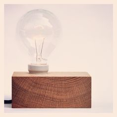 DIY Idea: Make a Minimal Wooden Lamp