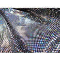 Shattered Glass- Silver/Black