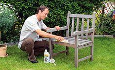 Gartenmöbel pflegen - Wir geben praktische Tipps, wie Sie Ihre Gartenmöbel und Balkonmöbel pflegen und zuverlässig schützen.