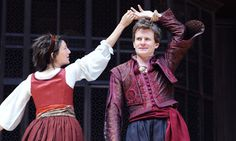 The men's costumes in the Globe's Much Ado were to DIE for.
