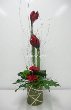 arrangement floral rouge - Recherche Google
