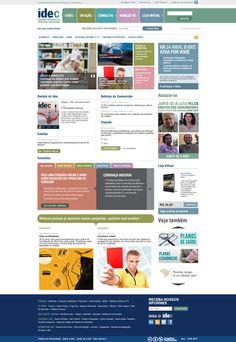 Portal do IDEC (Instituto de Defesa do Consumidor) (2011)