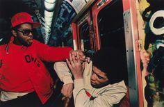 Bruce Davidson, Subway, 1985, Michael and Jane Wilson  © Bruce Davidson