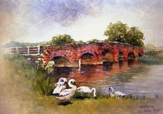 W048 Eckington Bridge by christopher Hughes  ~  x