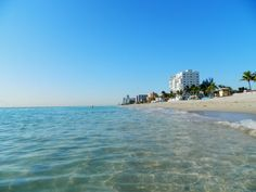 Hollywood Beach (Hollywood, Florida) Can't wait to go here! One month away!