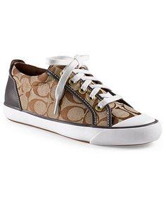 COACH BARRETT SNEAKER - Coach Shoes - Handbags & Accessories - Macy's