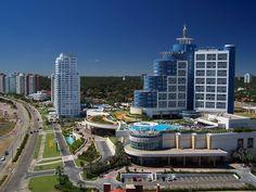 Vista del Hotel Conrad-Punta del Este - departamento de Maldonado-Uruguay