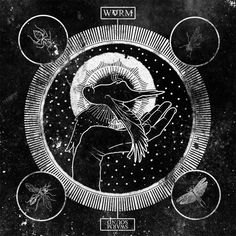 Album Cover by By Korey Smith Album: Swarm Sound  Band: WVRM  From: Greenville