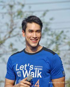 #nadech Best Thai, Hot Asian Men, Celebrity Couples, Male Models, Actresses, Actors, Celebrities, Mens Tops, Kpop