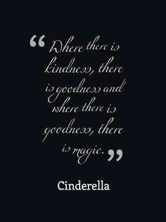 Kindness, goodness, magic