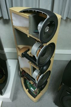 KEF Reference 203/2 Cutaway View | An internal view of the R… | Flickr