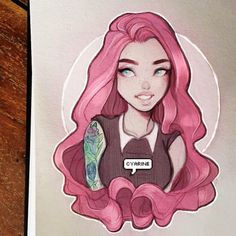 Pink hair~~