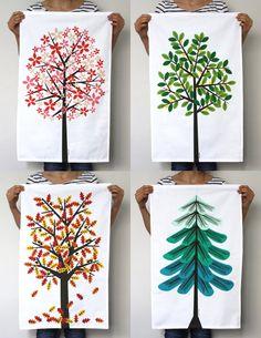 Tree Tea Towels