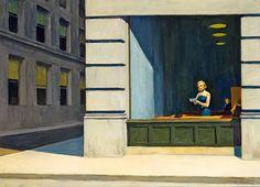 Edward Hopper | New York Office, 1962 | Montgomery Museum of Fine Arts, Birmingham